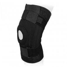 Бандаж на коленный сустав неразъемный со спиральными ребрами жесткости KS-052