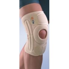 Окутывающий коленный бандаж с пружинными ребрами жесткости 6119 и 7119