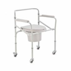 Кресло-коляска с санитарным оснащением H 021B