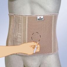 Бандаж абдоминальный послеоперационный для стомированных больных Orliman COL-240