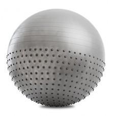 FS Мяч для фитнеса 2 в 1 Fitness&Massage ball 65см FMB-02 с насосом