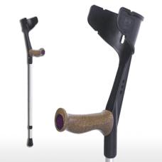Костыль с пробковой рукояткой и системой фиксации Мэджик-Натур арт.109