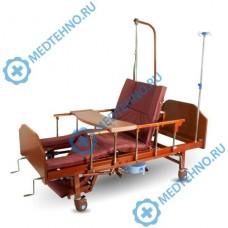 Кровать функциональная с туалетным устройством YG-5 c функцией кардиокресло и переворачивания больного