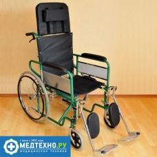 Инвалидная коляска FS 902 GC-41(46) с высокой спинкой
