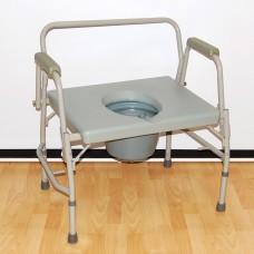Кресло-стул с санитарным оснащением HMP-7012 с увеличенной грузоподъемностью