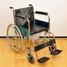 Инвалидное кресло-коляска с санитарным устройством FS 681-45