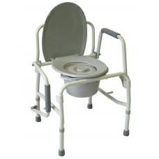 Кресло-туалет повышенной прочности AMCB6807 (AMCF97)