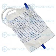Мочеприемник Vogt Medical прикроватный 1000мл/ 2000мл с прямым сливом
