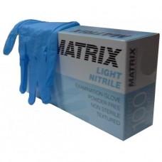 Перчатки нитриловые смотровые MATRIX NITRILE 100шт. *