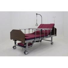 """Кровать электрическая c YG-2 (MM-1301ТН) c функцией """"Кардиокресло"""" ЛДСП Венге"""