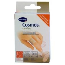 Лейкопластырь COSMOS Comfort Antiseptic 20шт. 2 размера +