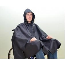 Плащ-накидка для инвалидов-колясочников водоотталкивающая