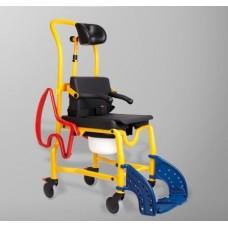 Туалетно-душевой стул для детей с ДЦП Аугсбург с регулируемым подголовником