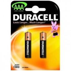 Элемент питания (батарейка) Duracell LR03-2BL Basic AAA 2шт.
