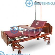 Кровать функциональная для интенсивной терапии с электроприводом DB-6 (MM-166H) темное дерево