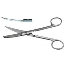 Ножницы с одним острым концом изогнутые *