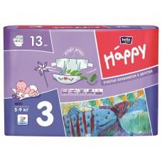 Подгузники для детей BELLA BABI HAPPY (Midi) 13 шт.