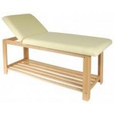 Стационарный массажный стол деревянный FIX-0B