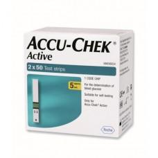 Тест-полоски Акку-Чек Актив (Accu-Chek Active) 100 штук