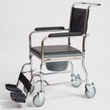 Кресло-каталка с санитарным оснащением CCW01-45