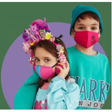 Маска защитная фильтрующая многоразовая детская