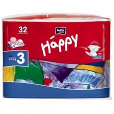 Подгузники для детей Bella Baby Happy midi 5-9кг 32шт.