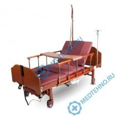 Кровать медицинская YG-3 (MM-92) с электроприводом (туалет, кардиокресло, боковое переворачивание)