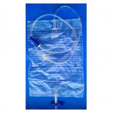 Мочеприемник прикроватный 2,0 л. н/ст с крестовым клап. и сливом KDM