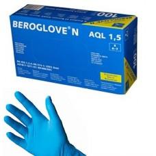 """Перчатки нестерильные неопудренные нитриловые """"BEROGLOVE"""""""