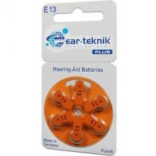 Батарейка EAR-TECHNIC 13 (1уп/6шт)