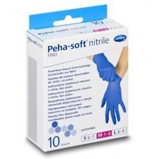 "Диагностические перчатки ""PEHA-SOFT"" nitrile fino 1уп./10шт. (без пудры)"