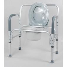 Кресло-туалет для полных людей, разборный 10589