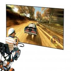 Игровая приставка с рулевым управлением для велотренажера АНГЕЛ-СОЛО