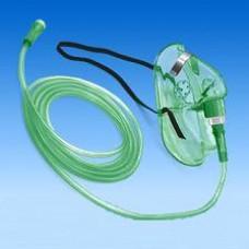 Маска кислородная с трубкой
