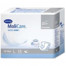 MoliCare Premium soft extra - Воздухопроницаемые подгузники: размер L, 30 шт. (169848)