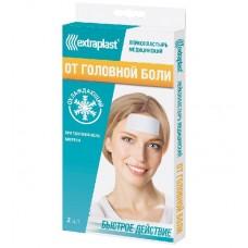 Охлаждающий пластырь-компресс от головной боли Extraplast +