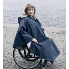 Плащ дождевик Пончо для инвалидных колясок