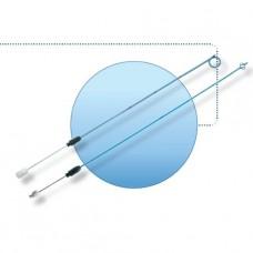 RCJ112 Катетер для ЧПНС, J тип, однопетлевой, длина 29 см, металический стилет, коннектор,Coloplast