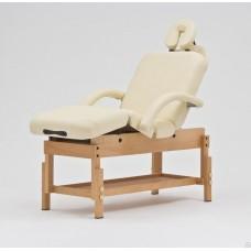 Стационарный массажный стол деревянный FIX-0A