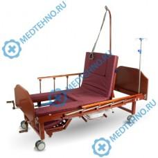 """Кровать функциональная медицинская YG-6 (MM-91) с туалетным устройством и функцией """"Кардиокресло"""""""