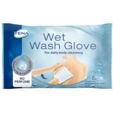 Рукавички для мытья влажные ТЕНА, 8шт